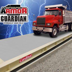 hydraulic, concrete deck truck scale