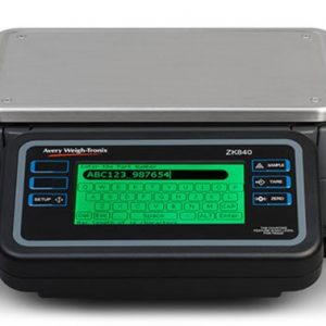 Fully programmable digital counting scale