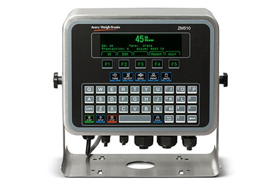 programmable weigh-tronix indicator